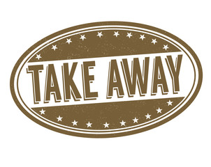 Take away stamp