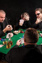 Unlucky poker players