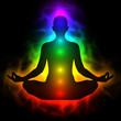 Human energy body, aura, chakra in meditation - 68116325