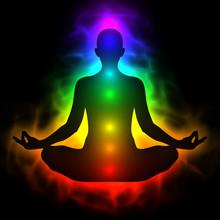 Menschliche Energiekörper, Aura, Chakra Meditation