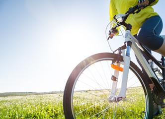 cycling at summer