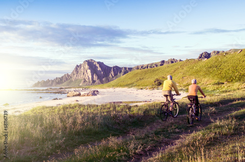 relax biking in Norway
