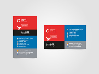 Professional Social Business Card