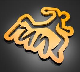Run render symbol