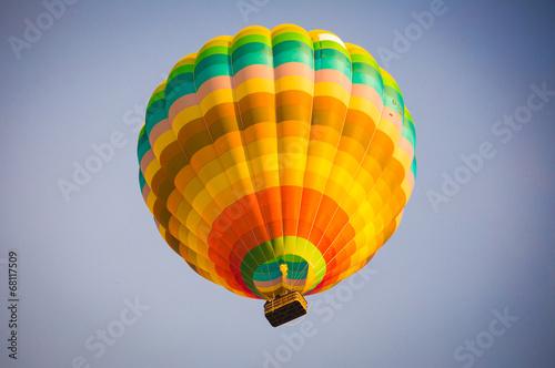Fotobehang Ballon Ballonfahrt