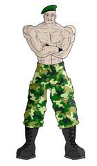 Sergeant man