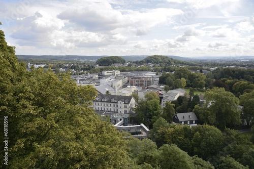 Leinwandbild Motiv Siegburg: Blick vom Michaelsberg