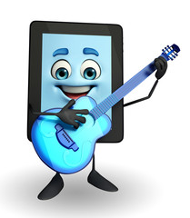 Tab Character with Guitar