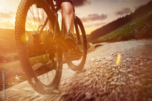 canvas print picture Mountain Bike