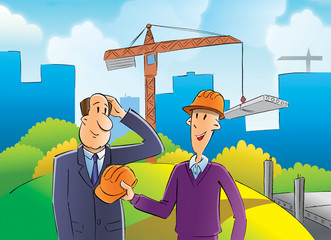 builder and inspector