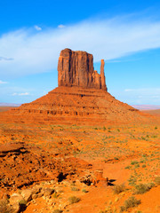 Mitten Butte in Monument Valley