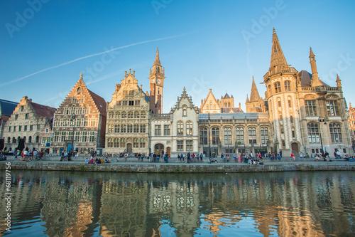 Fototapeta Ghent, Belgium