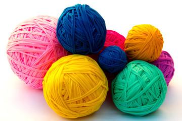 Recycled Crochet Balls