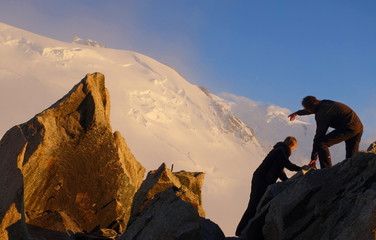 Alpinisme - Mont Blanc du tacul