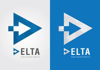 D Delta symbol for your business success.