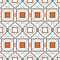 Colorful rectangles seamless pattern