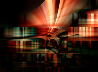 Abstract graphics dark background
