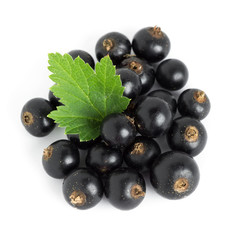 Black currants closeup