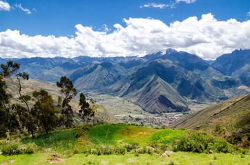 Die Anden in Peru