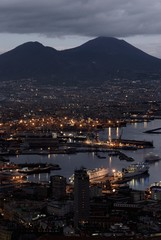 The town of Vesuvius