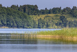 Lake Hancza in eastern Europe. Poland poster