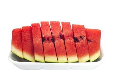 Slice of watermelons