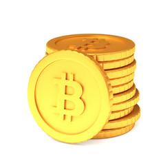 Stuck of bitcoins