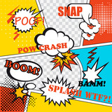 Pop art background - 68128119