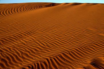 Onde di sabbia nel deserto