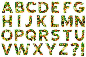 Healthy alphabet - FULL