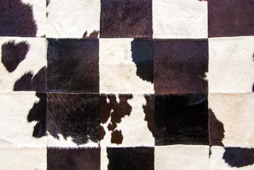 patchwork en peau de vache
