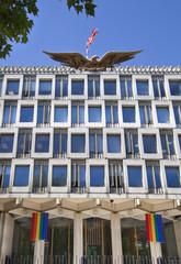 London, USA embassy