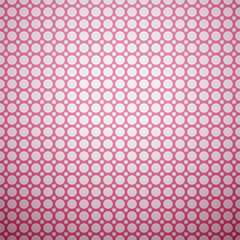 Beautiful vector pattern (tiling). Pink and white colors
