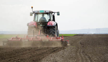 Arable land preparation for sowing