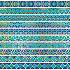 Moroccan Border Patterns