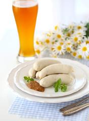 Weisswürste und Weizenbier