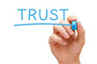 Trust Blue Marker