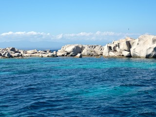 The Isuledda, also known as Isola dei Gabbiani, Sardinia