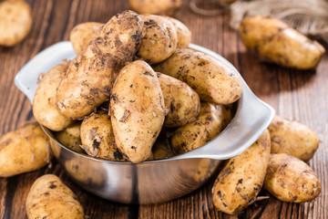 Heap of freh Potatoes