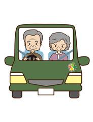 高齢者のドライブ