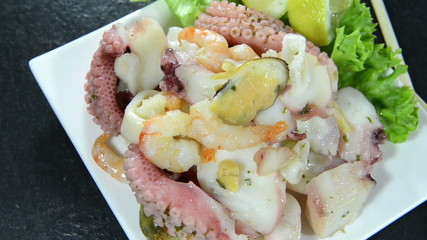 Seafood Salad (not loopable)