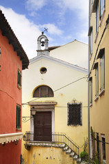 St. Thomas Church in Rovinj. Istria. Croatia