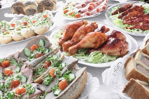 In de dag Buffet, Bar traditional table buffet food