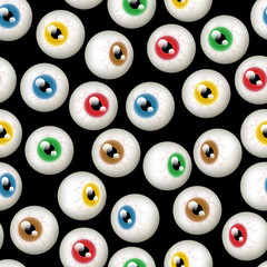 Halloween Eyeball Background