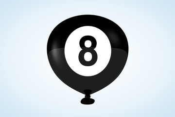 8-Ball Balloon