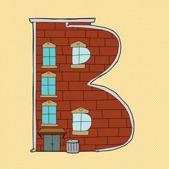 Cartoon B Symbol
