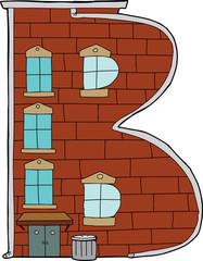 Apartment Letter B