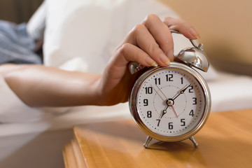 turn off alarm clock