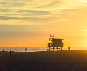 Famous Venice Beach in Los Angeles