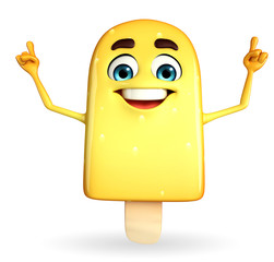 Candy Character With happy pose